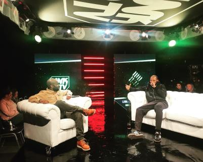 Manny Norte was hosting the 1 on 1 talk with Giggs