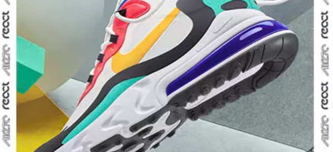 FRESH - Nike Air Max 270 React